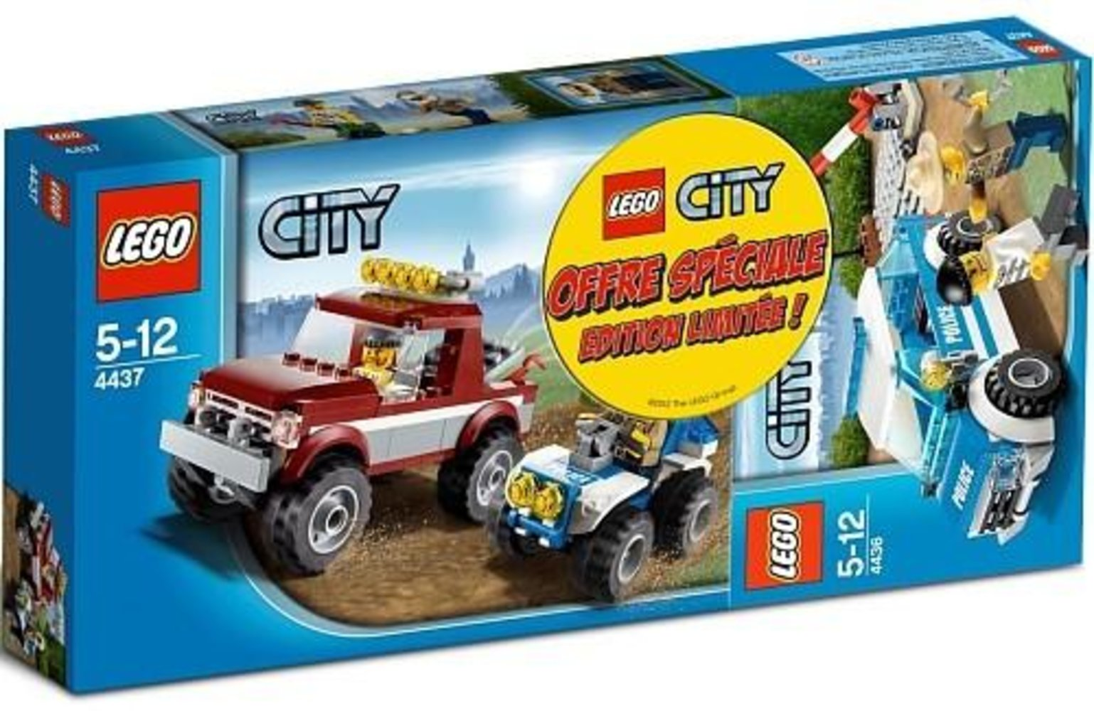 City Super Pack 2 in 1 (4436, 4437)