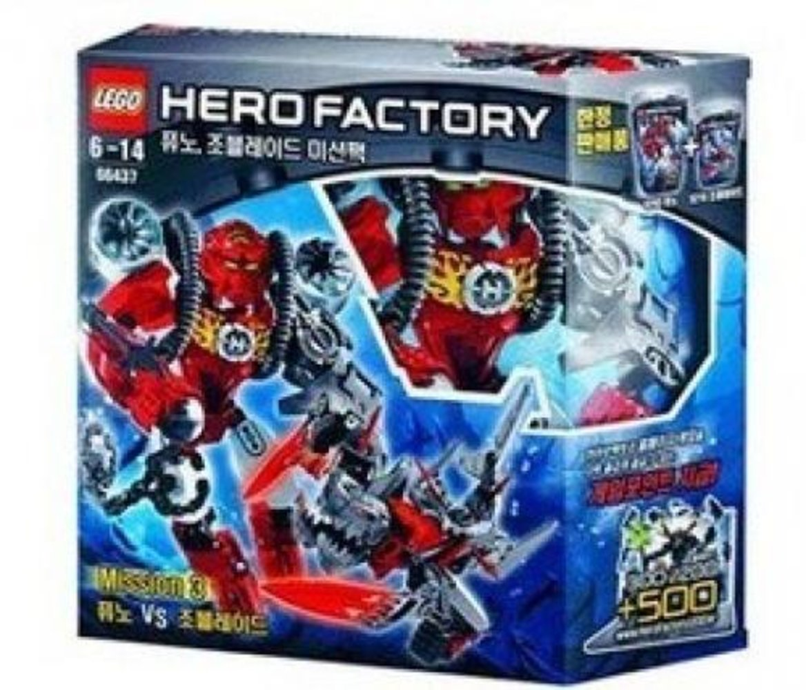 Hero Factory Super Pack 2 in 1 (6216, 6293)