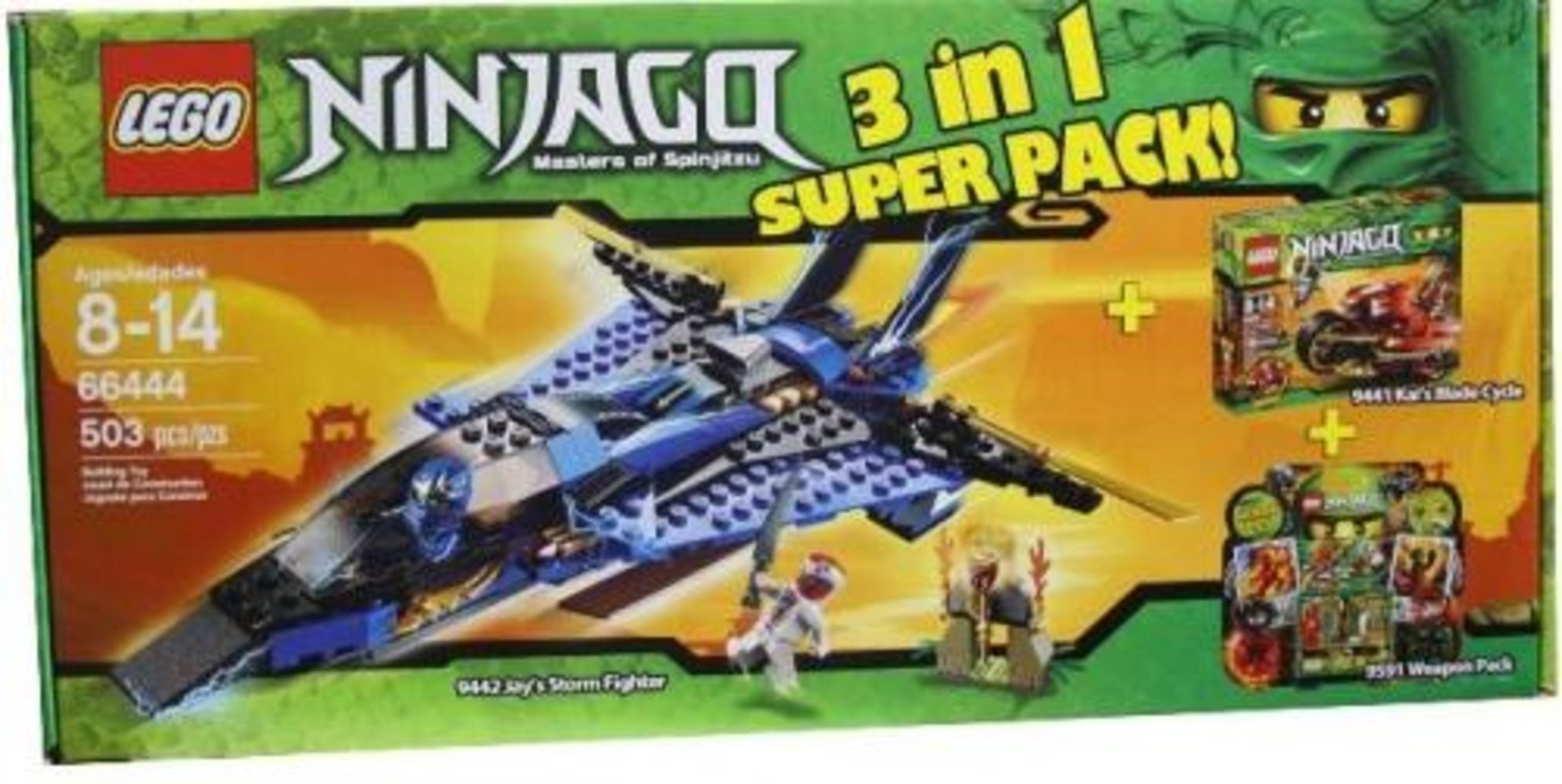 Super Pack 3 in 1