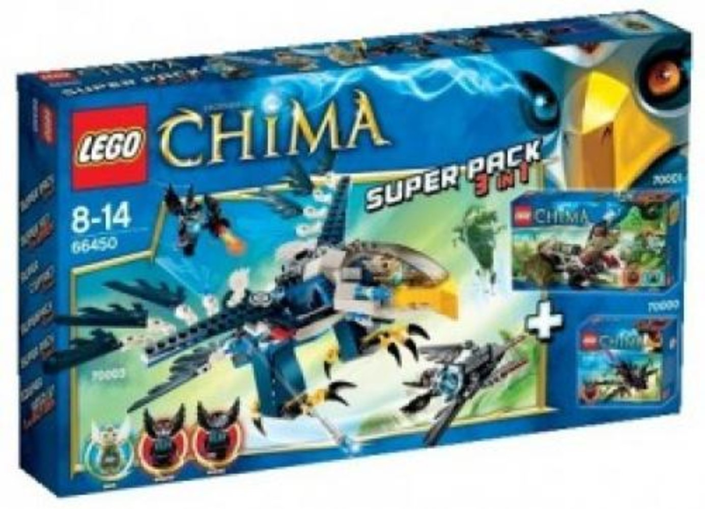 Legends of Chima Super Pack 3 in 1