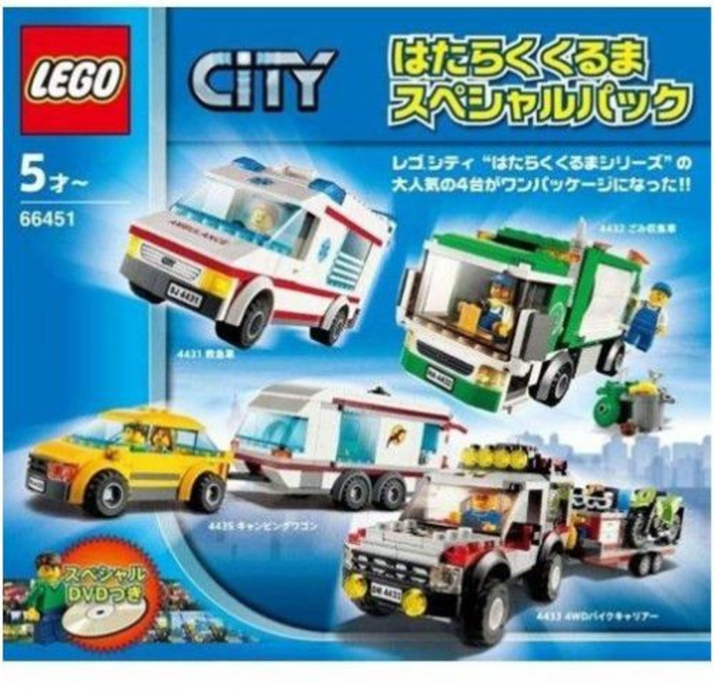 City Traffic Super Pack 4 in 1