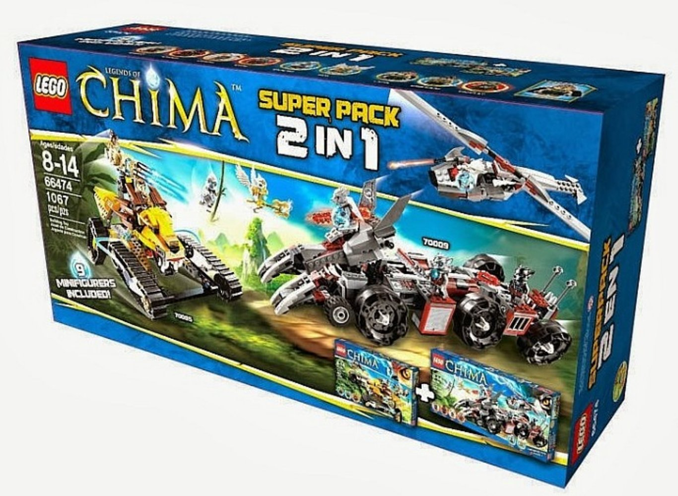 Legends of Chima Super Pack 2 in 1