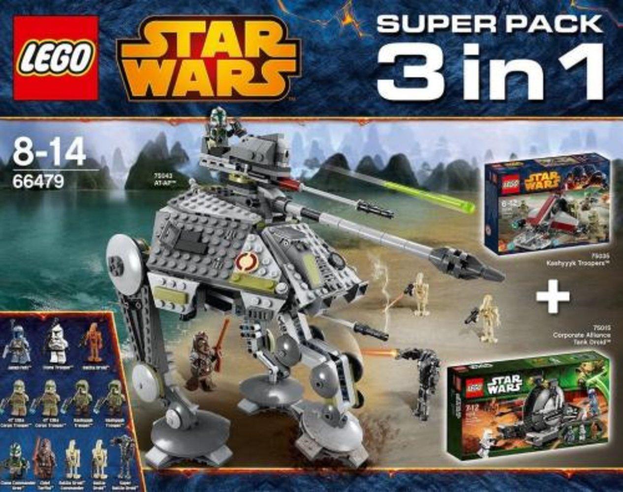 Super Pack 3 in 1 (75015, 75035, 75043)
