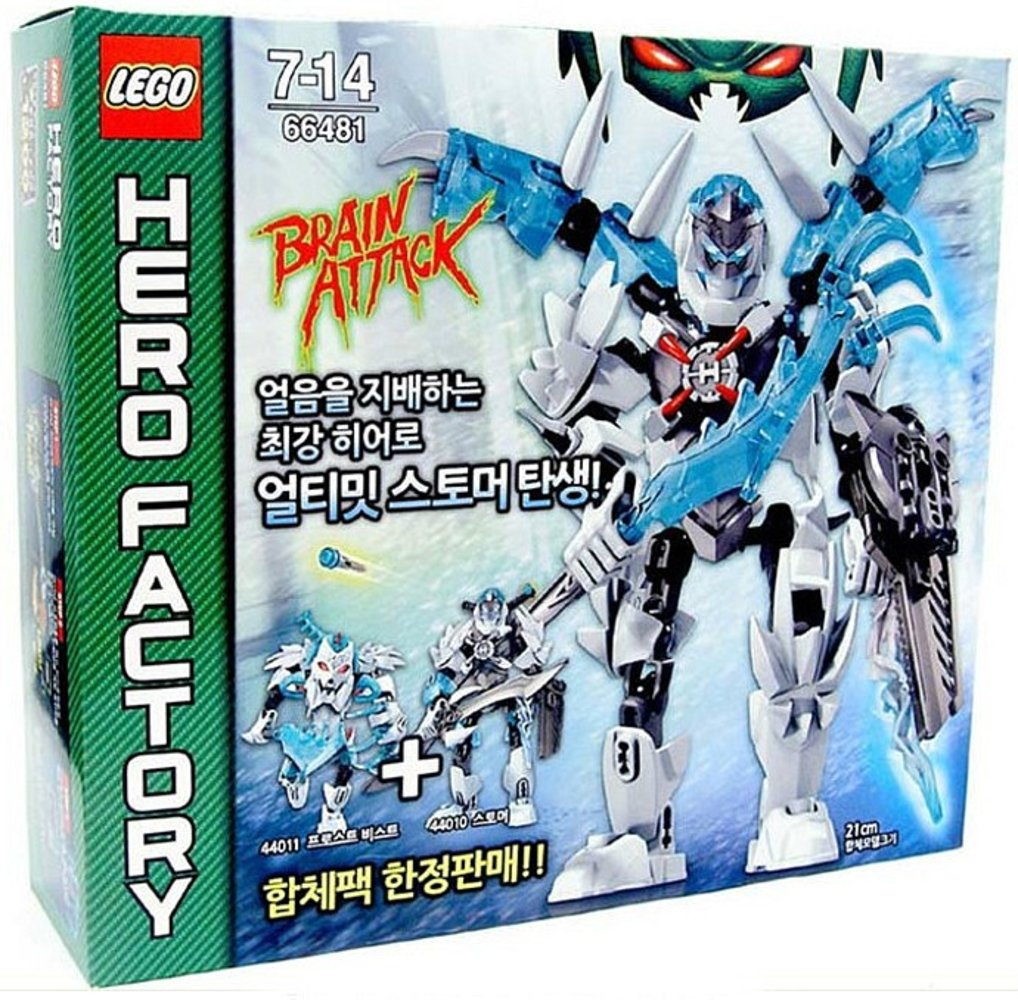 Hero Factory Super Pack 2 in 1