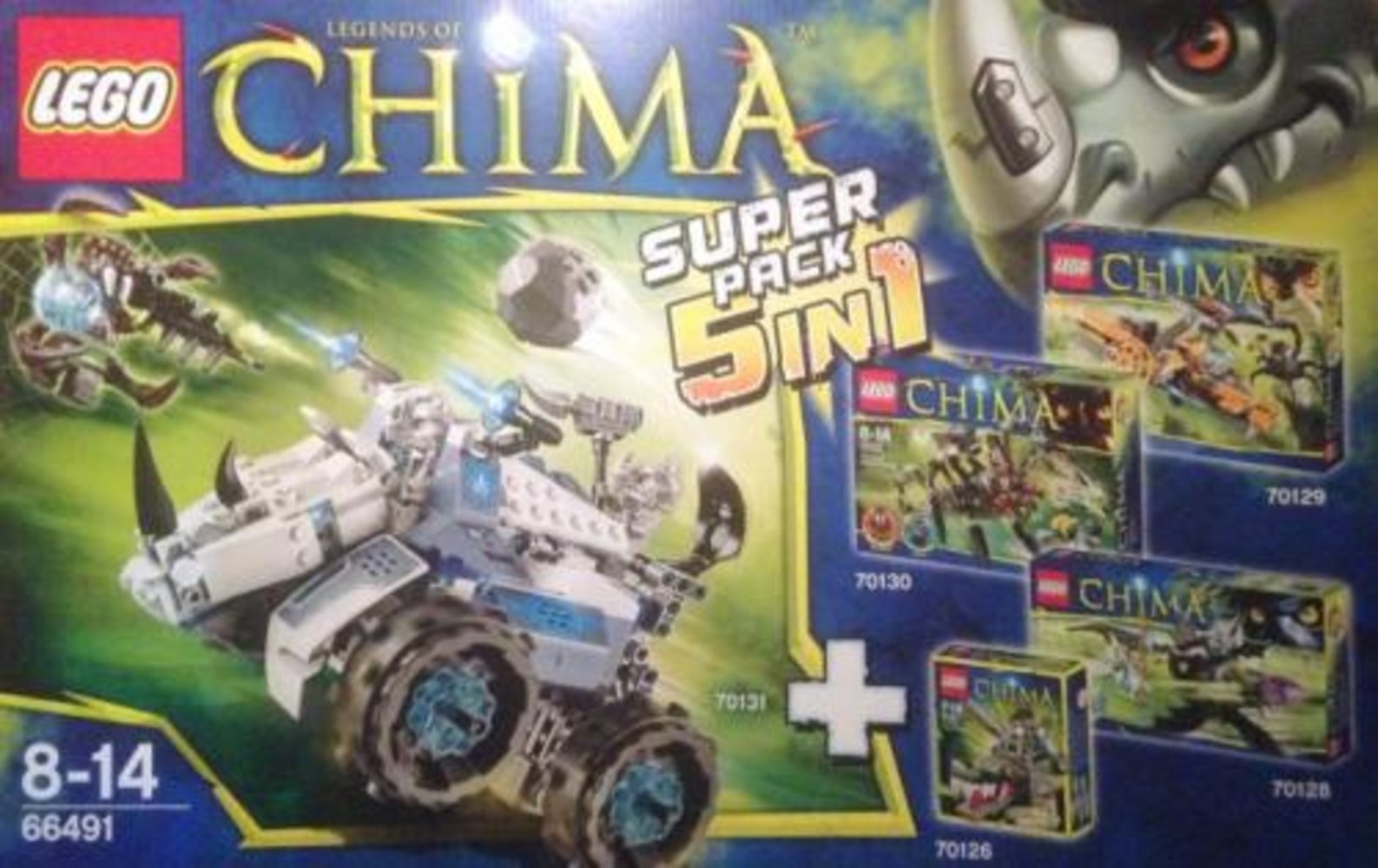 Legends of Chima Super Pack 5 in 1