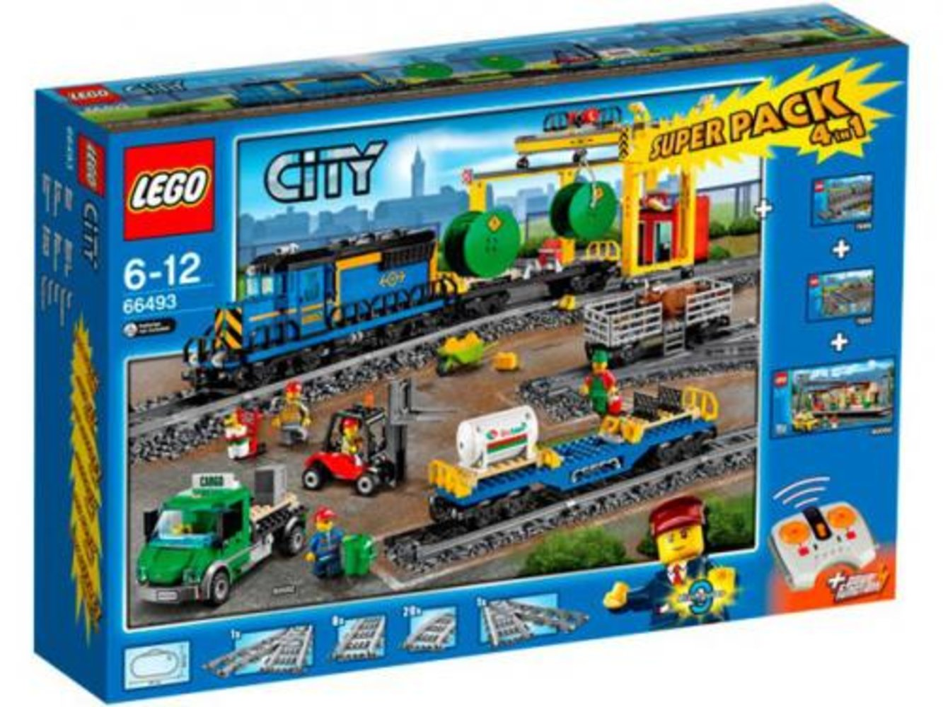 City Train Super Pack 4 in 1