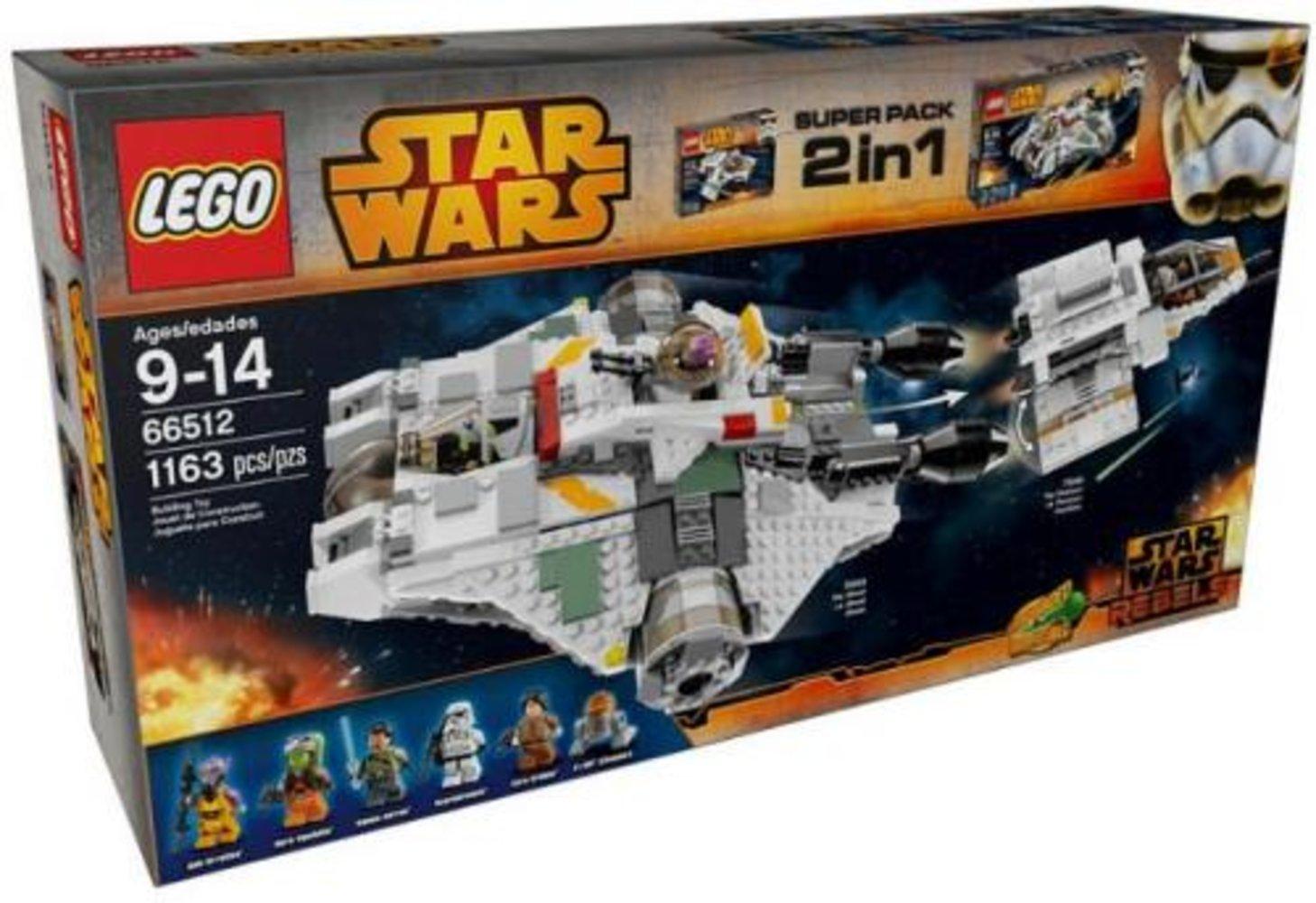 Star Wars Super Pack 2 in 1 (75048, 75053)