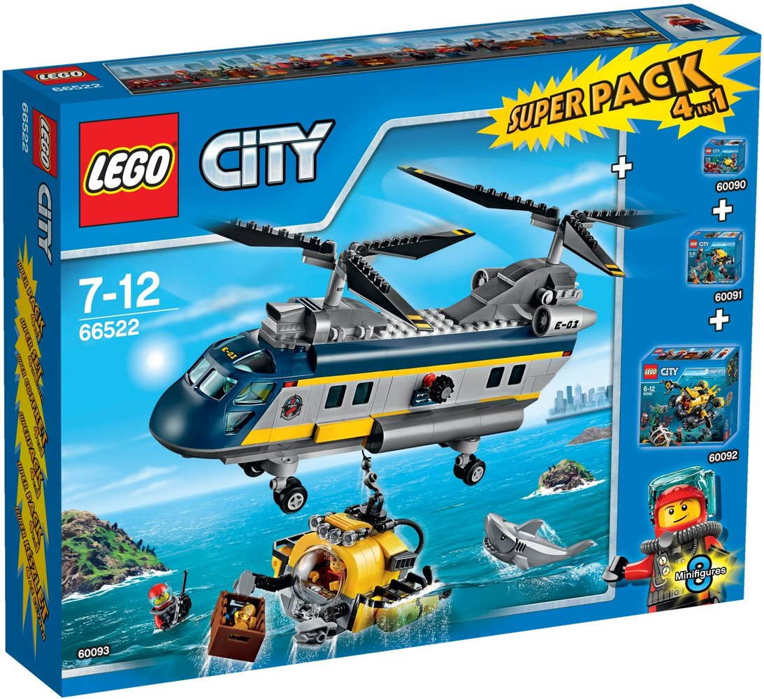 City Super Pack 4 in 1