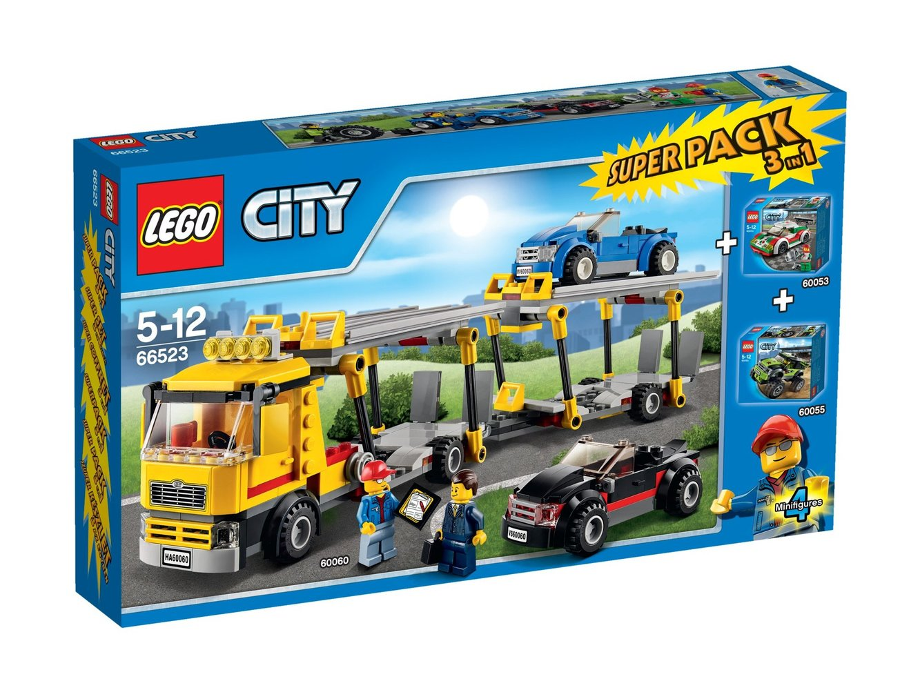 City Super Pack 3-in-1