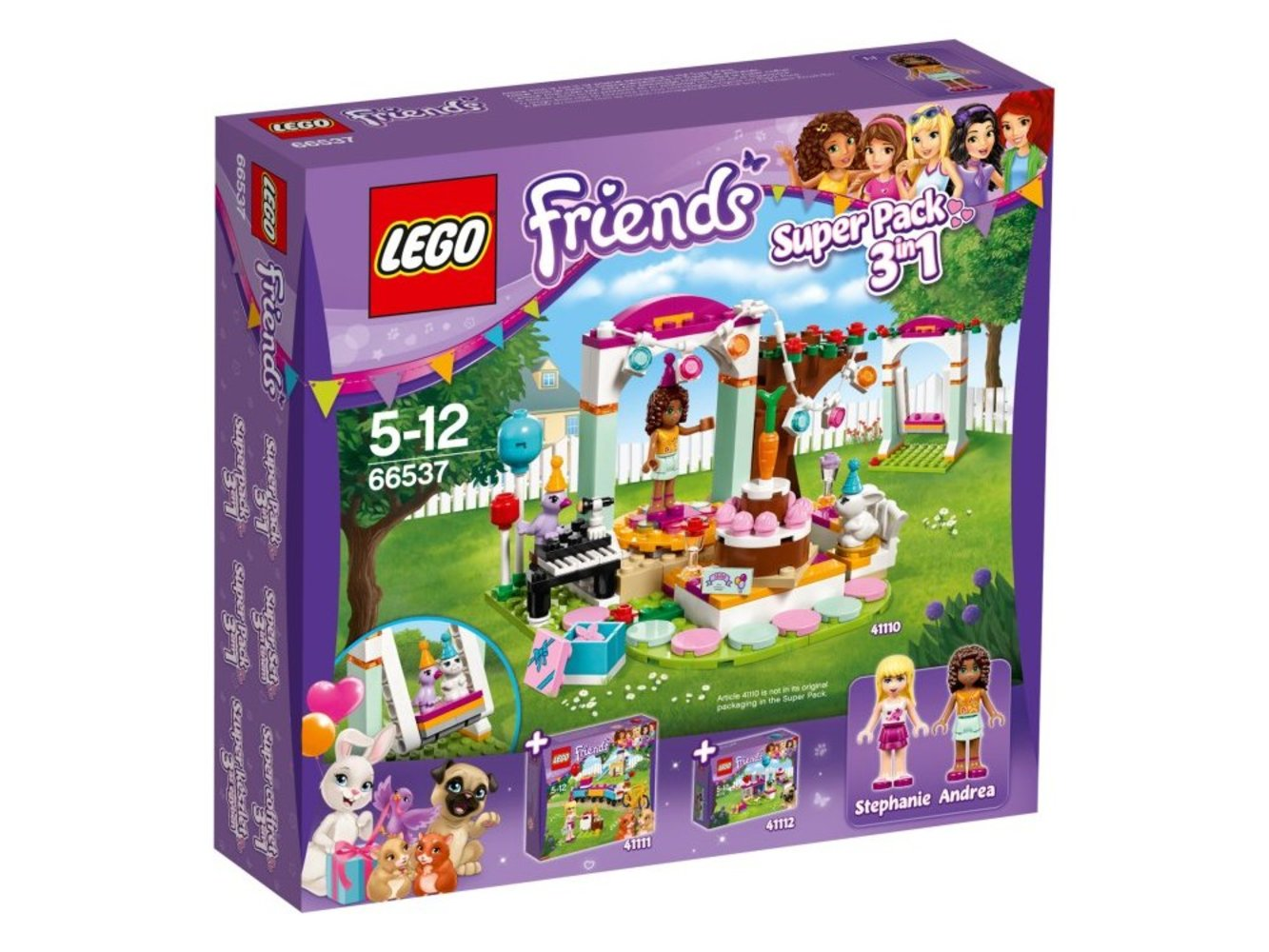 Friends Super Pack 3 in 1