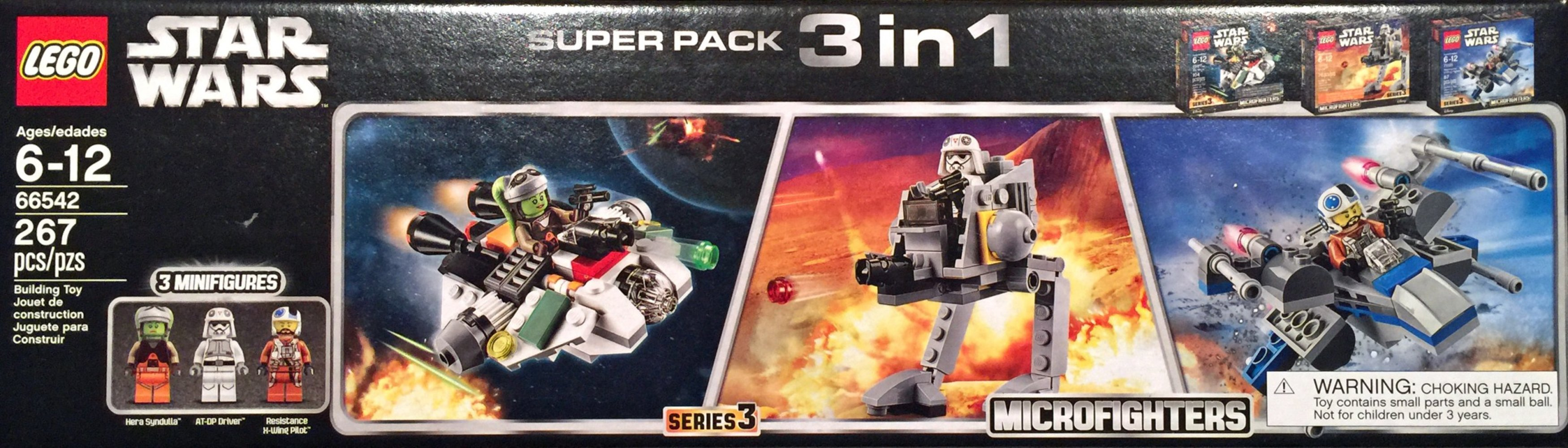 Star Wars Microfighters Super Pack 3 in 1