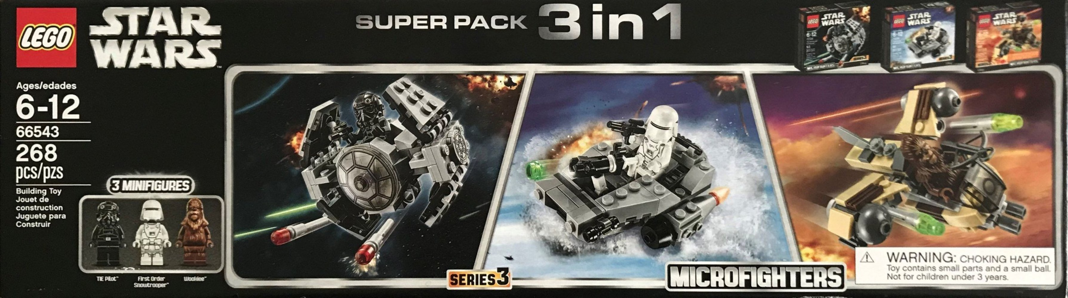 Microfighters Super Pack 3 in 1