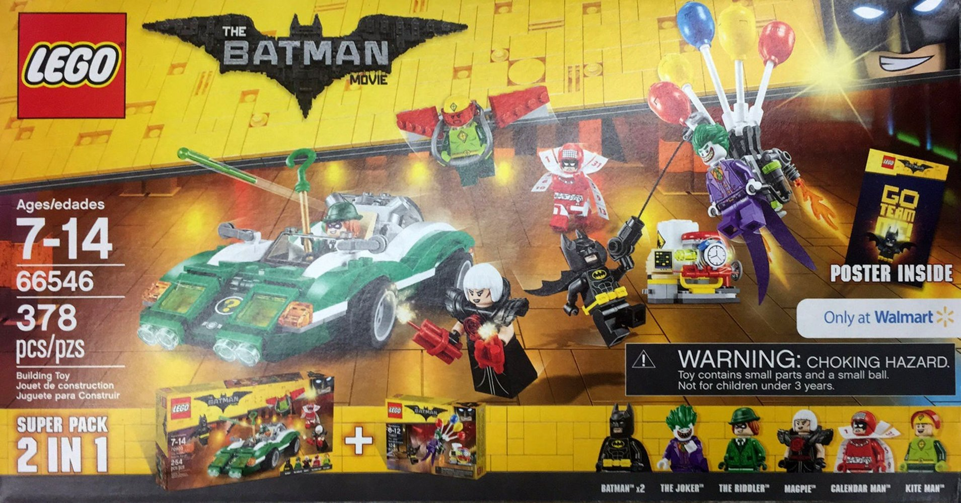 The LEGO Batman Movie Super Pack 2 in 1