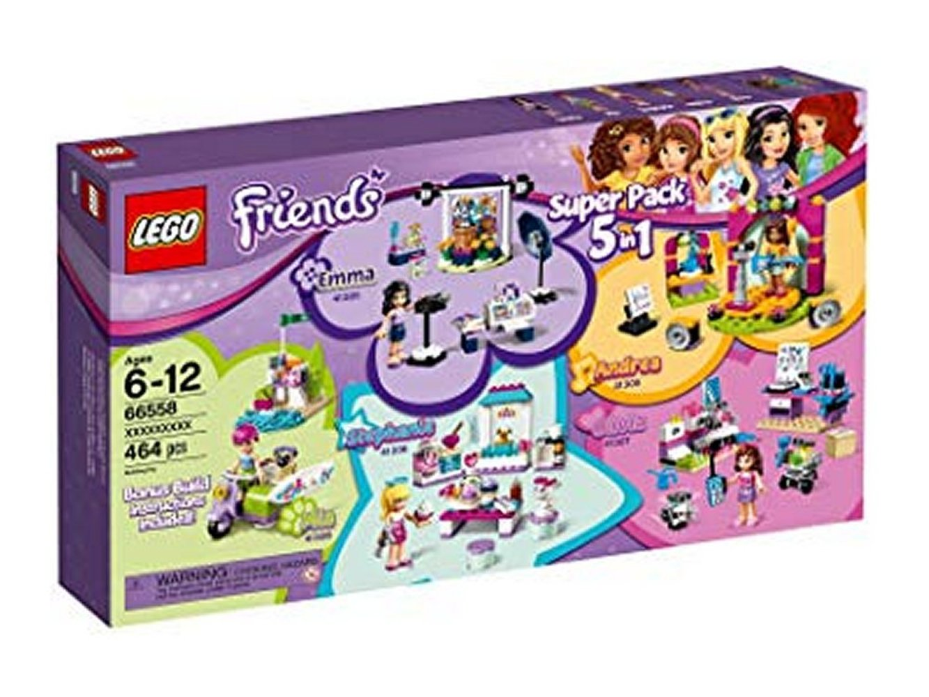 Friends Super Pack 5 in 1