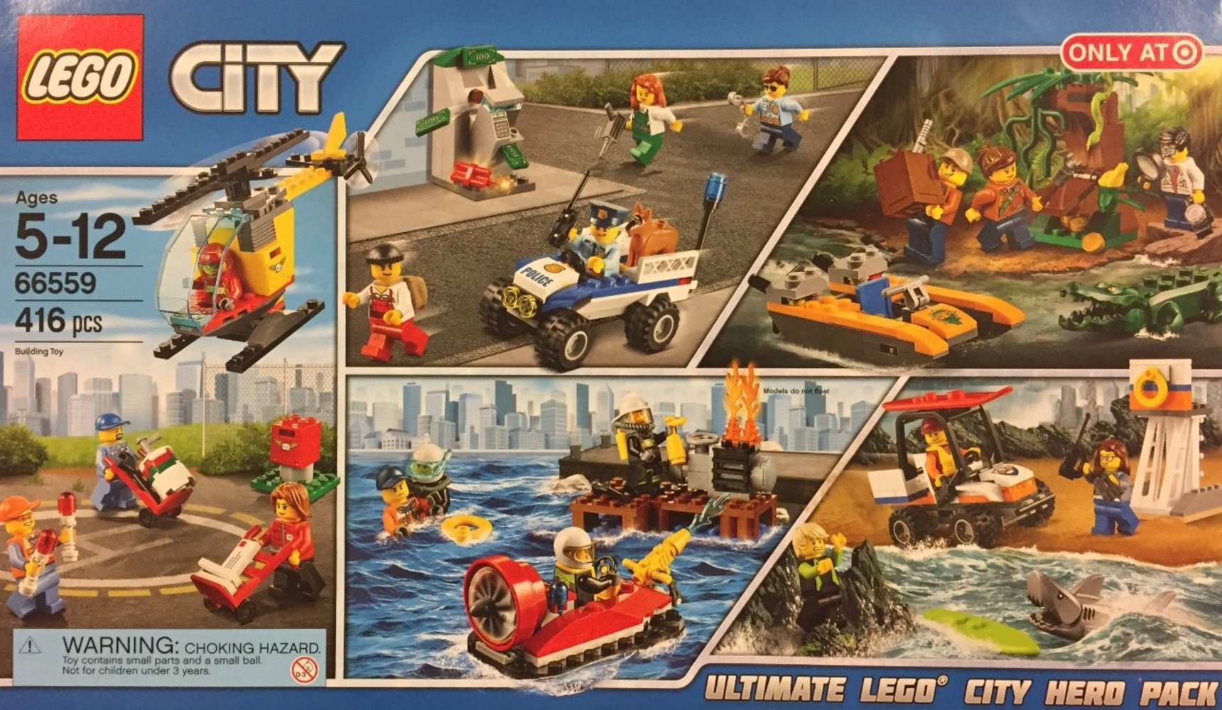 Ultimate LEGO City Hero Pack