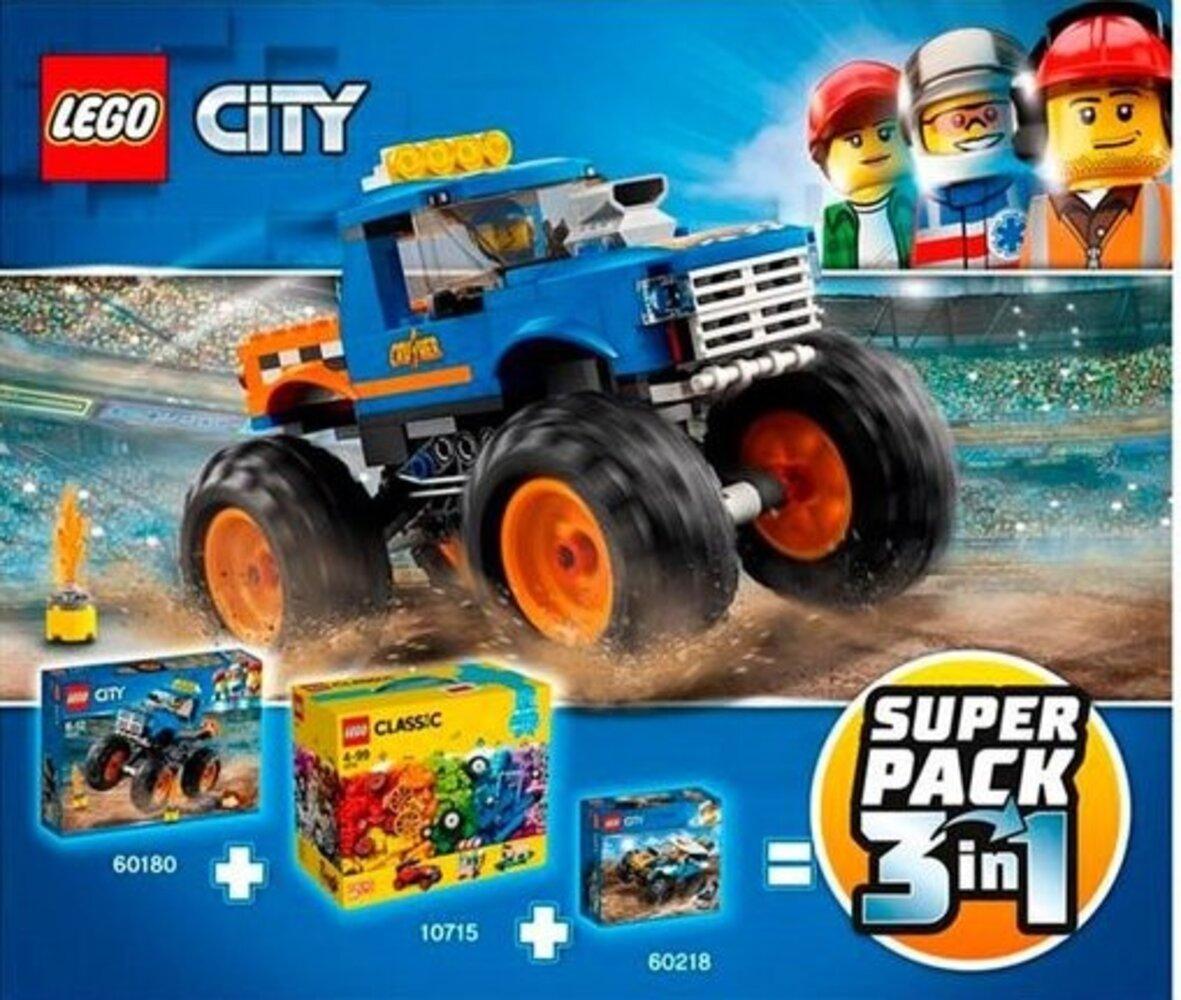 City / Classic Super Pack 3 in 1