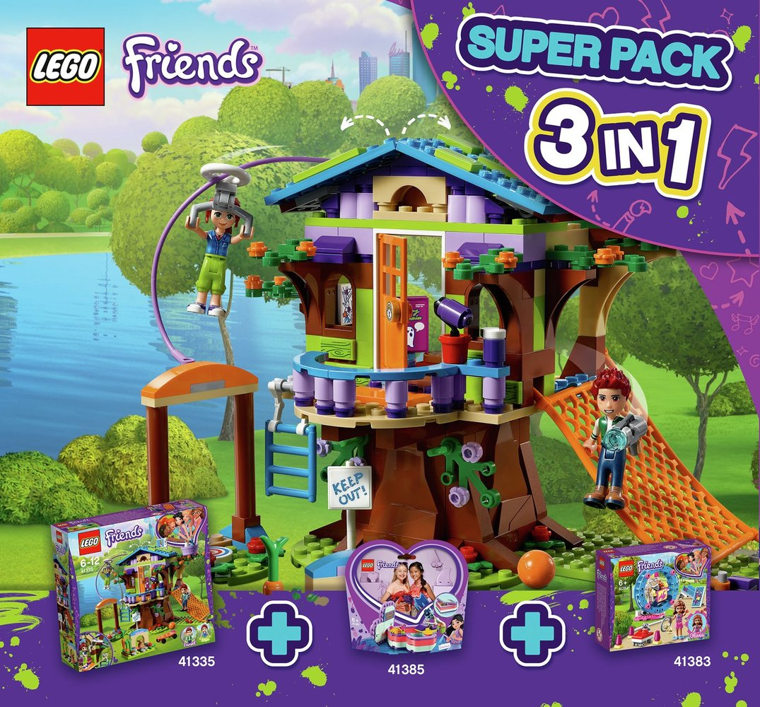 Friends Super Pack 3-in-1