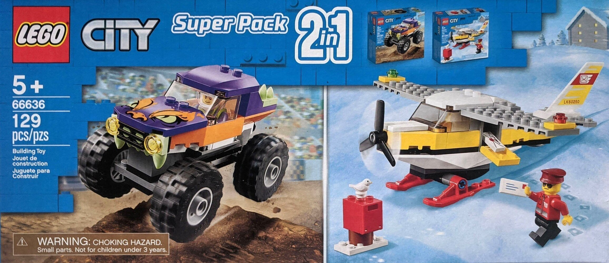Super Pack 2 in 1