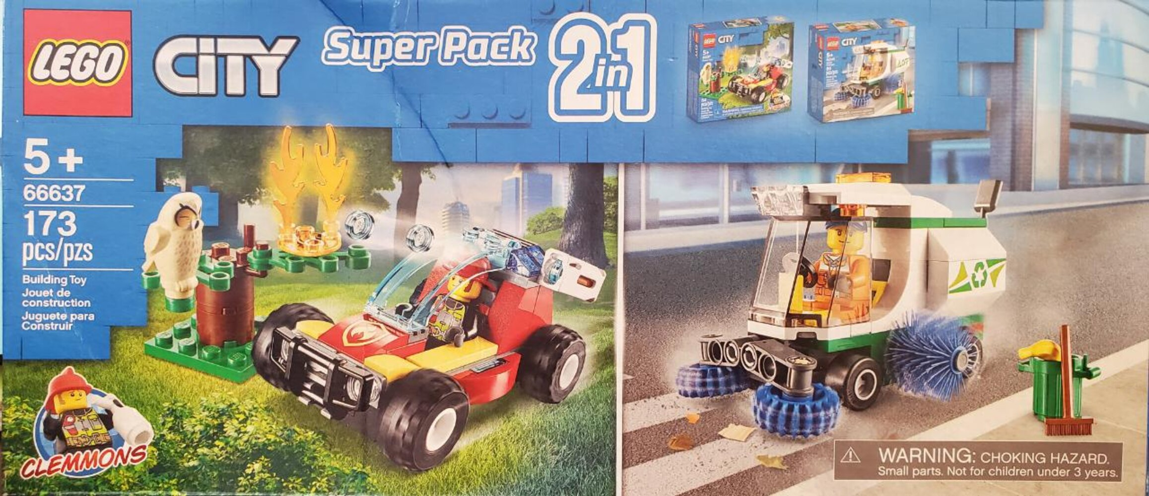 City Super Pack 2 in 1