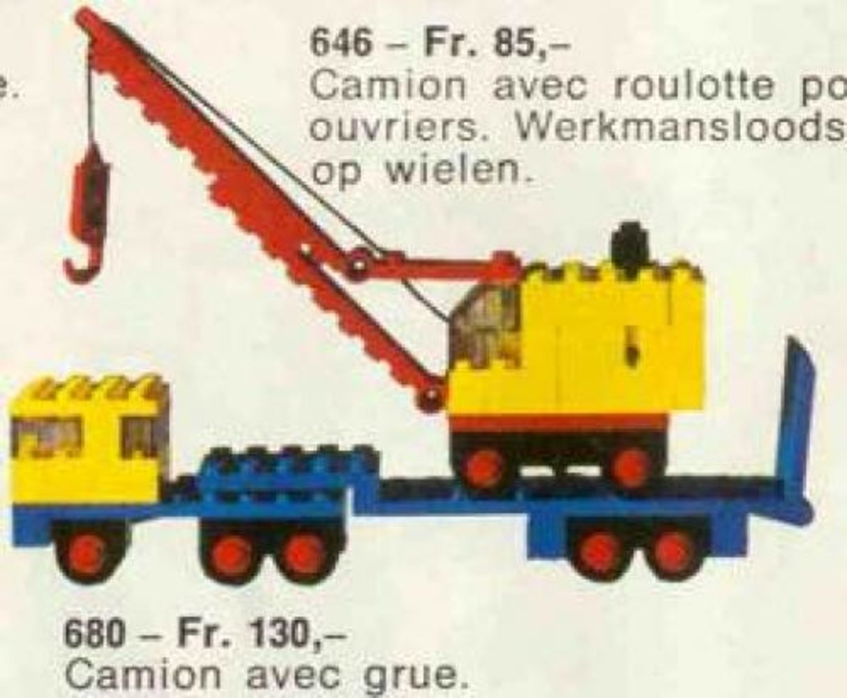 Low-Loader and Crane