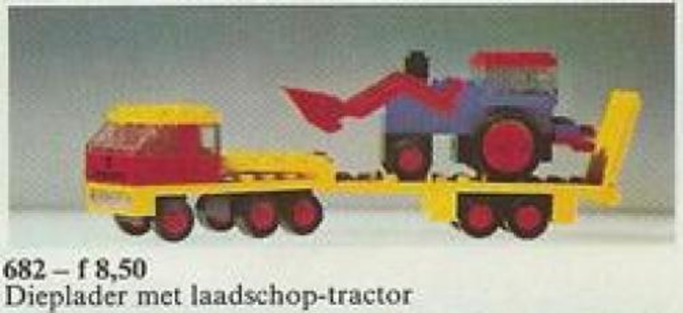 Low-Loader and Tractor