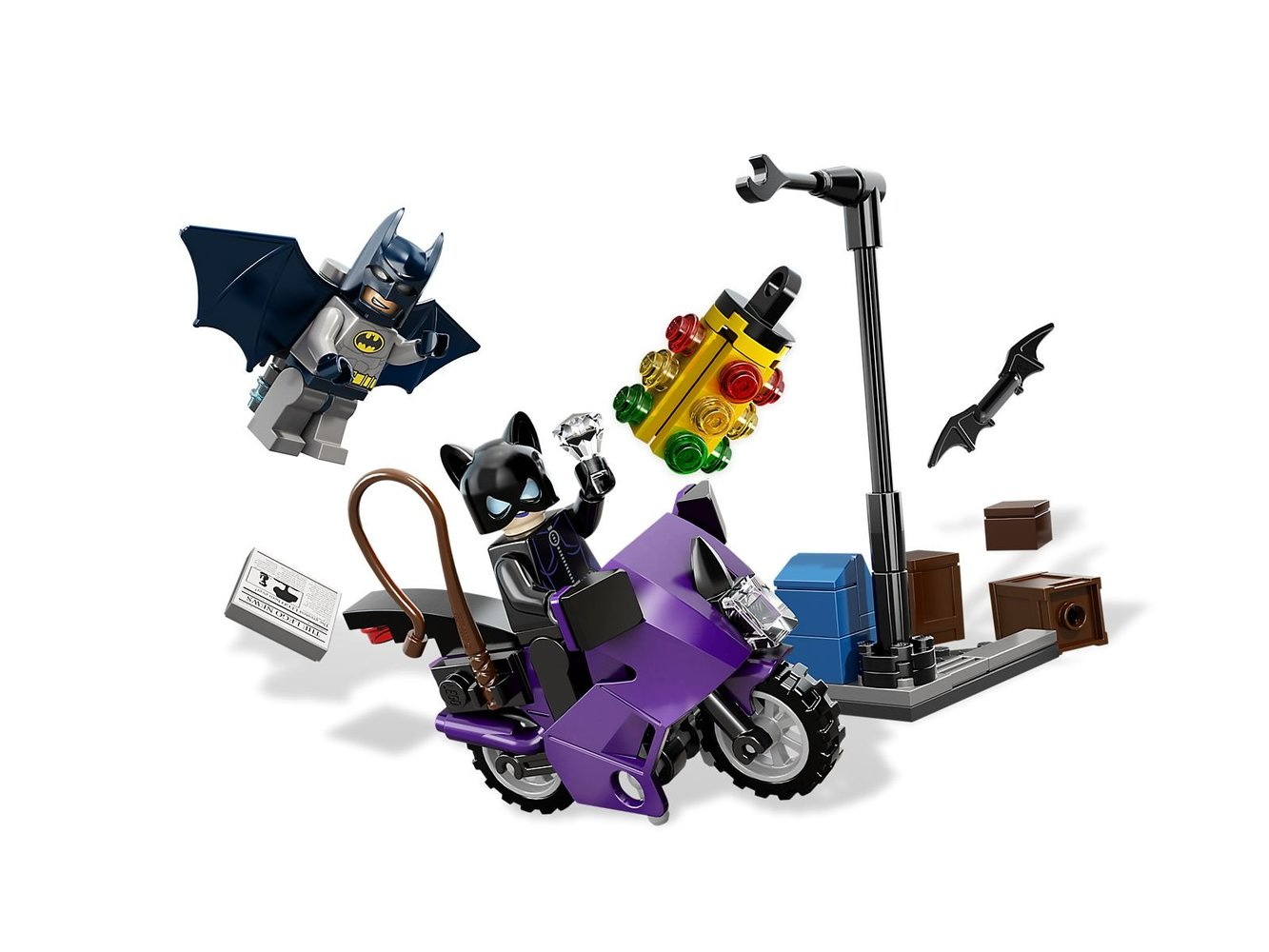 Catwoman Catcycle City Chase