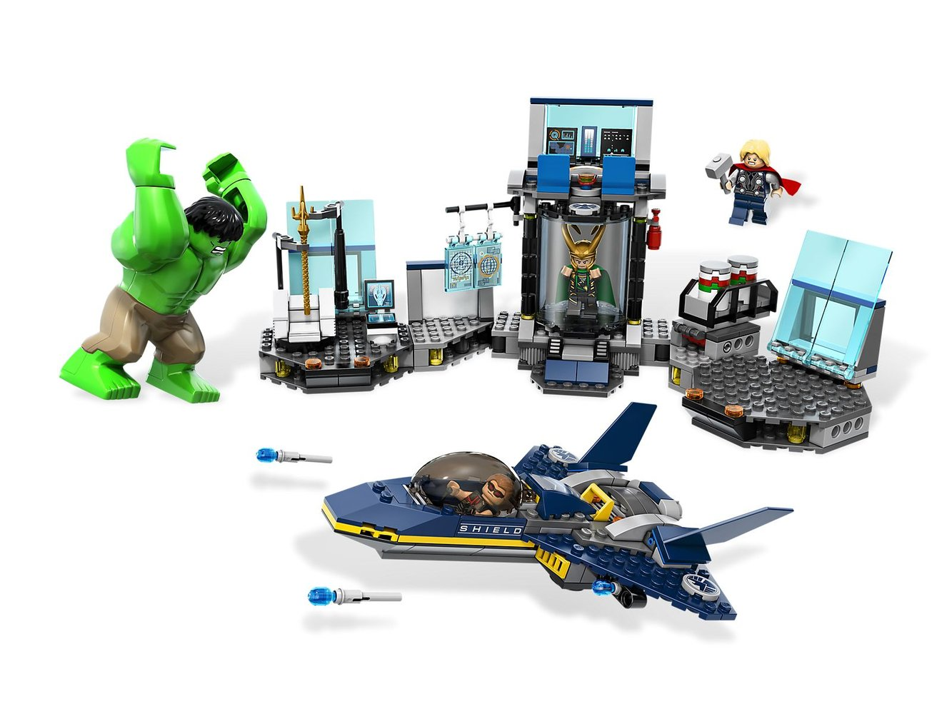 Hulk's Helicarrier Breakout