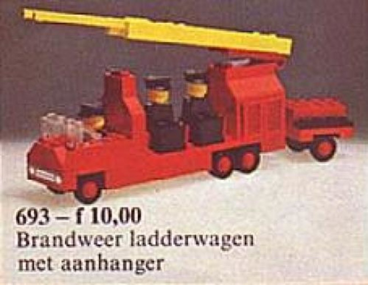 Fire Engine with Firemen