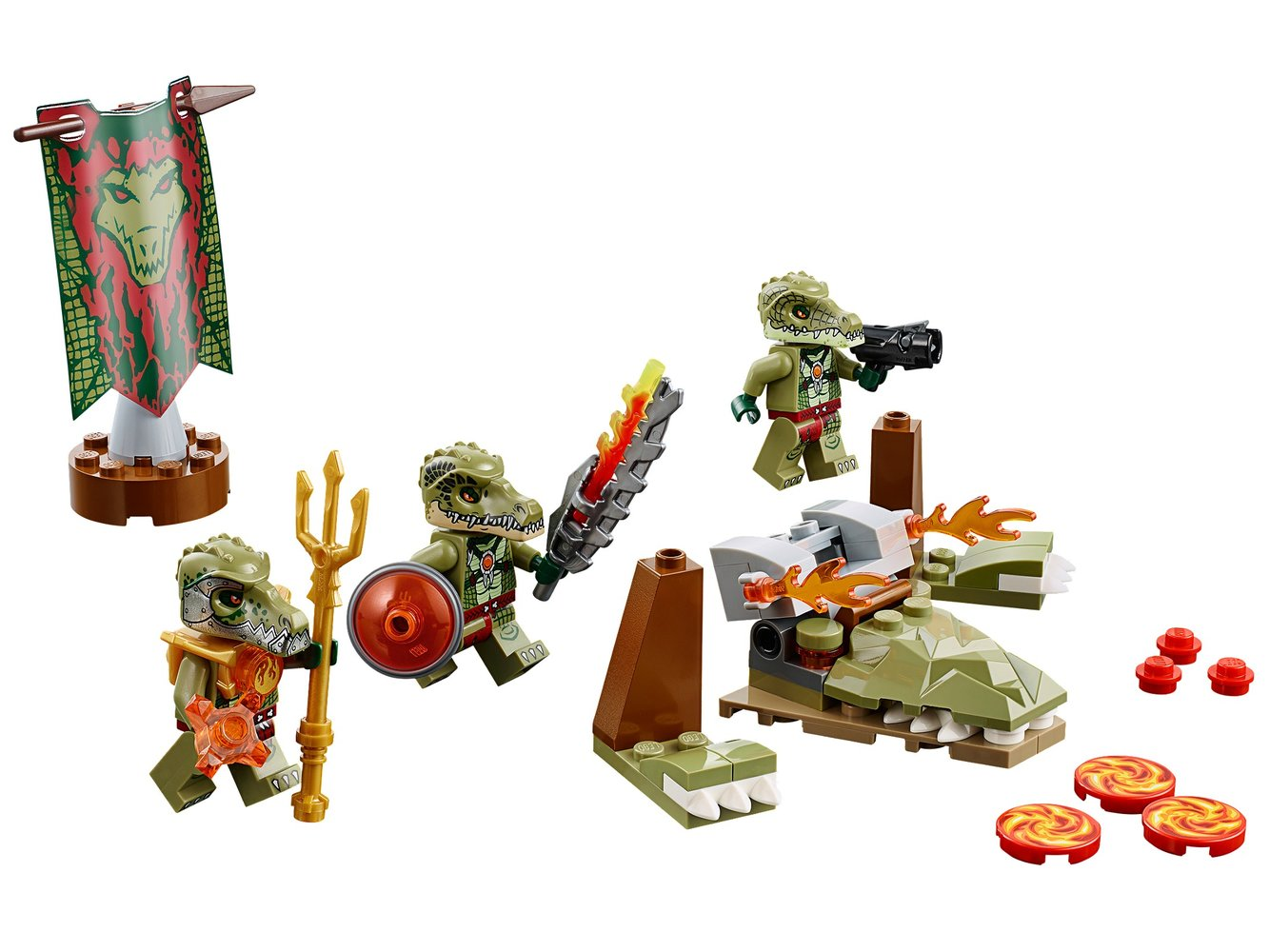 Crocodile Tribe Pack