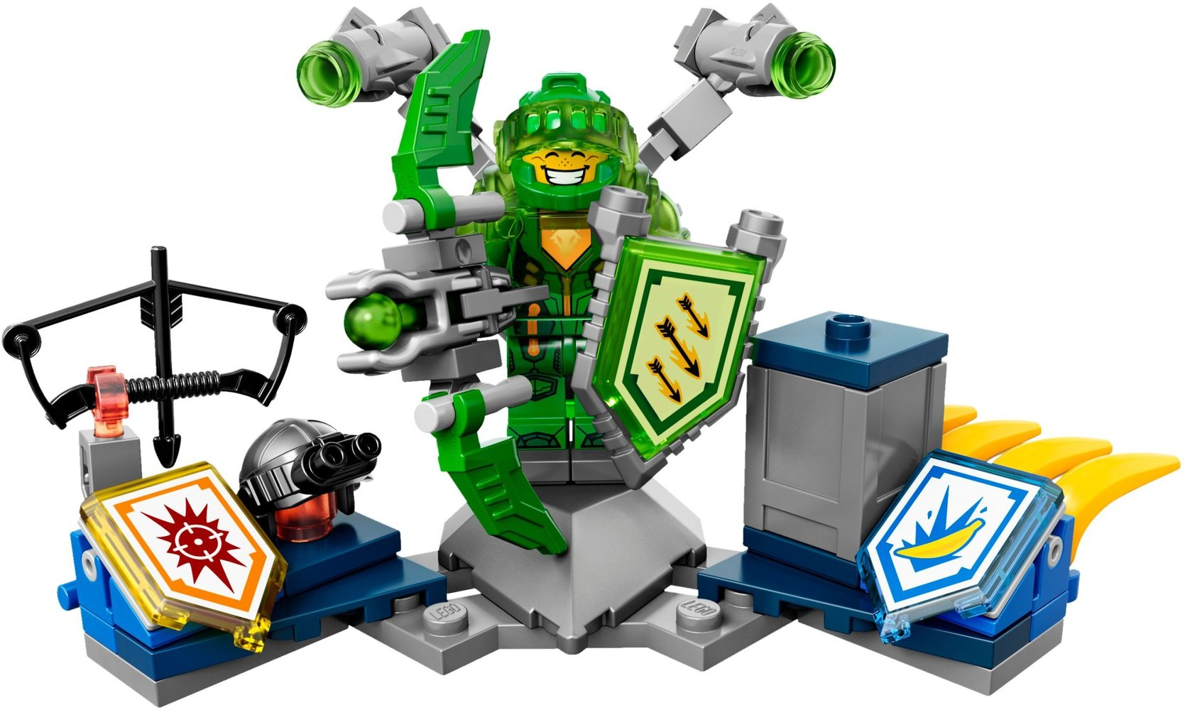 lego nexo knights 70332 pas cher aaron l ultime chevalier
