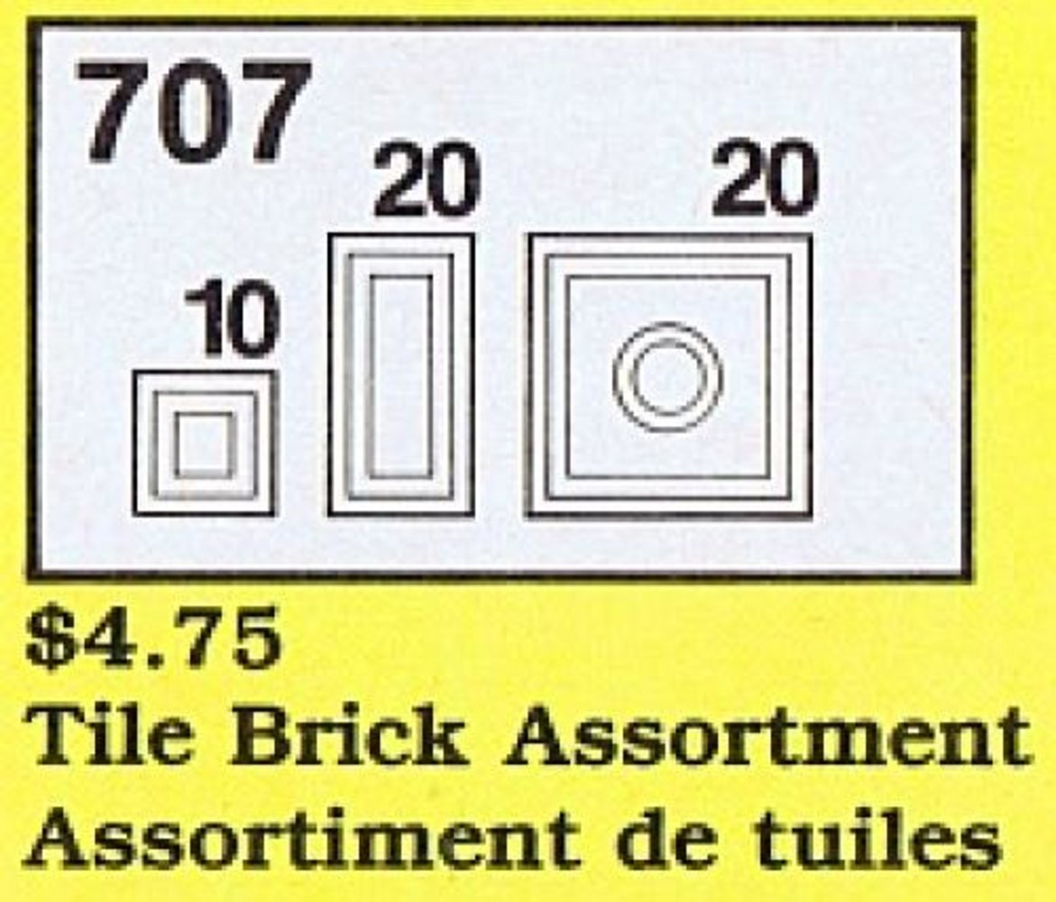 Tile Brick Assortment