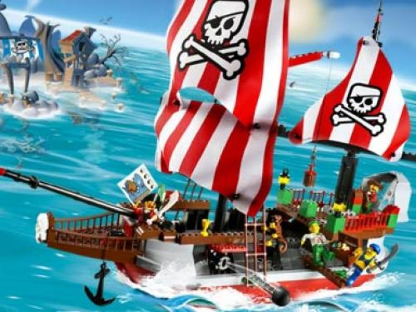 Captain Redbeard's Pirate Ship - Limited Edition with Motor