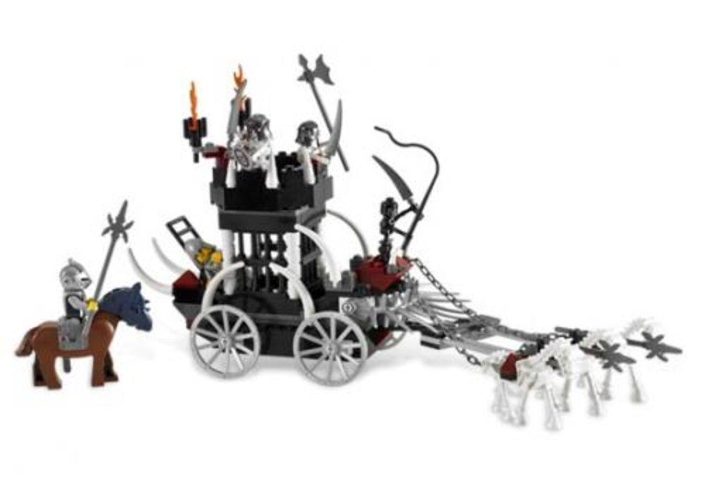 Skeletons' Prison Carriage