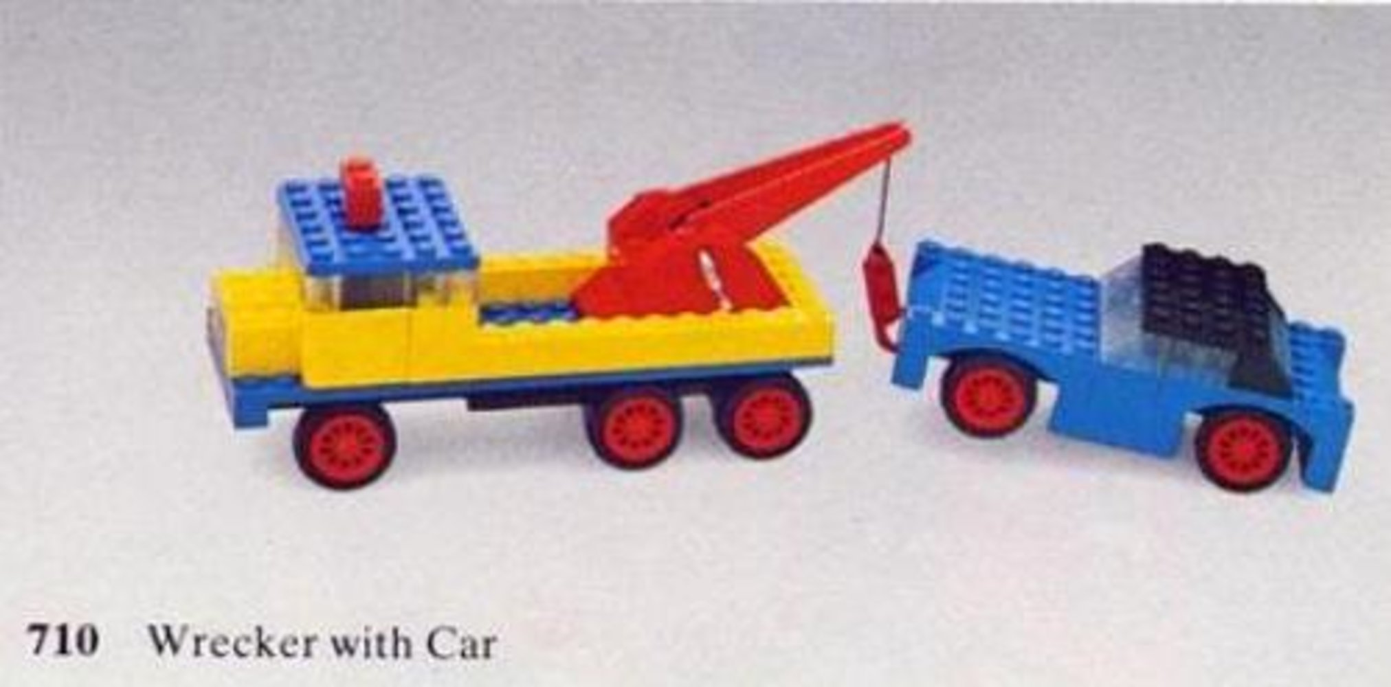 Wrecker with Car