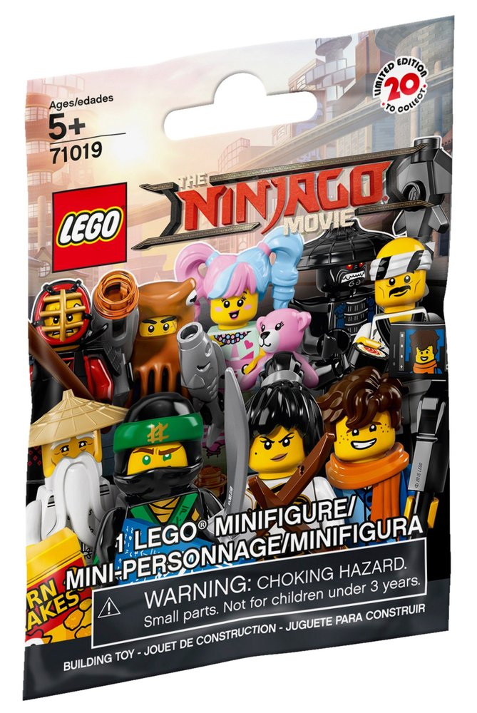 The LEGO Ninjago Movie - Complete - All Parts