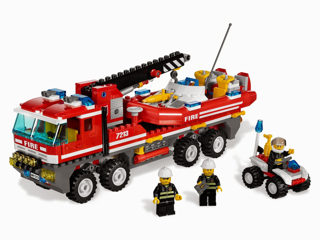 Off-Road Fire Truck & Fireboat