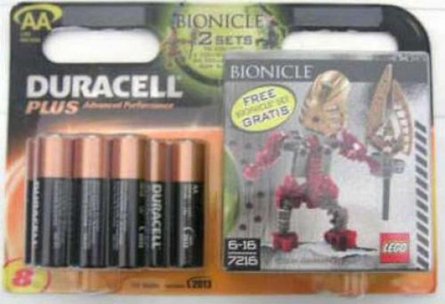 Gold Good Guy - looking Right (Duracell 12 pack AA) {Turaga Lhikan}