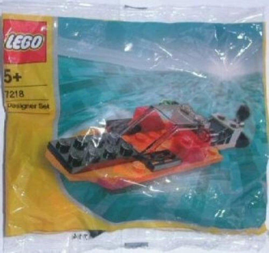 Orange Speedboat