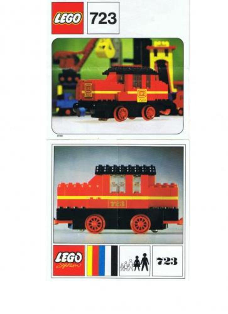 Diesel Locomotive with DB Sticker