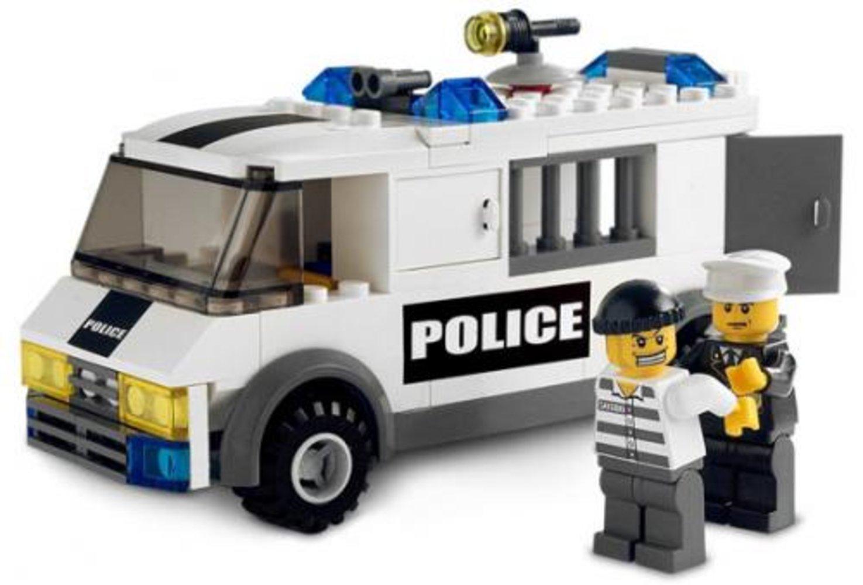 Prisoner Transport - Blue Sticker Version