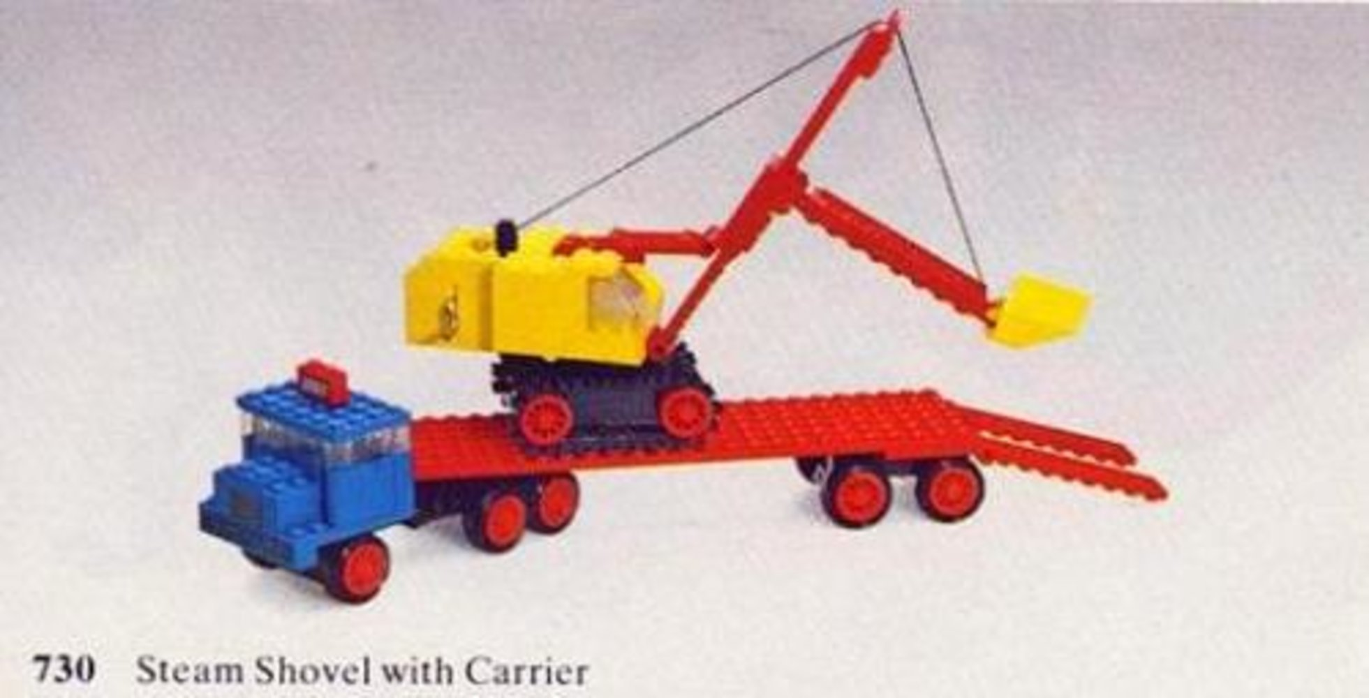 Steam Shovel with Carrier