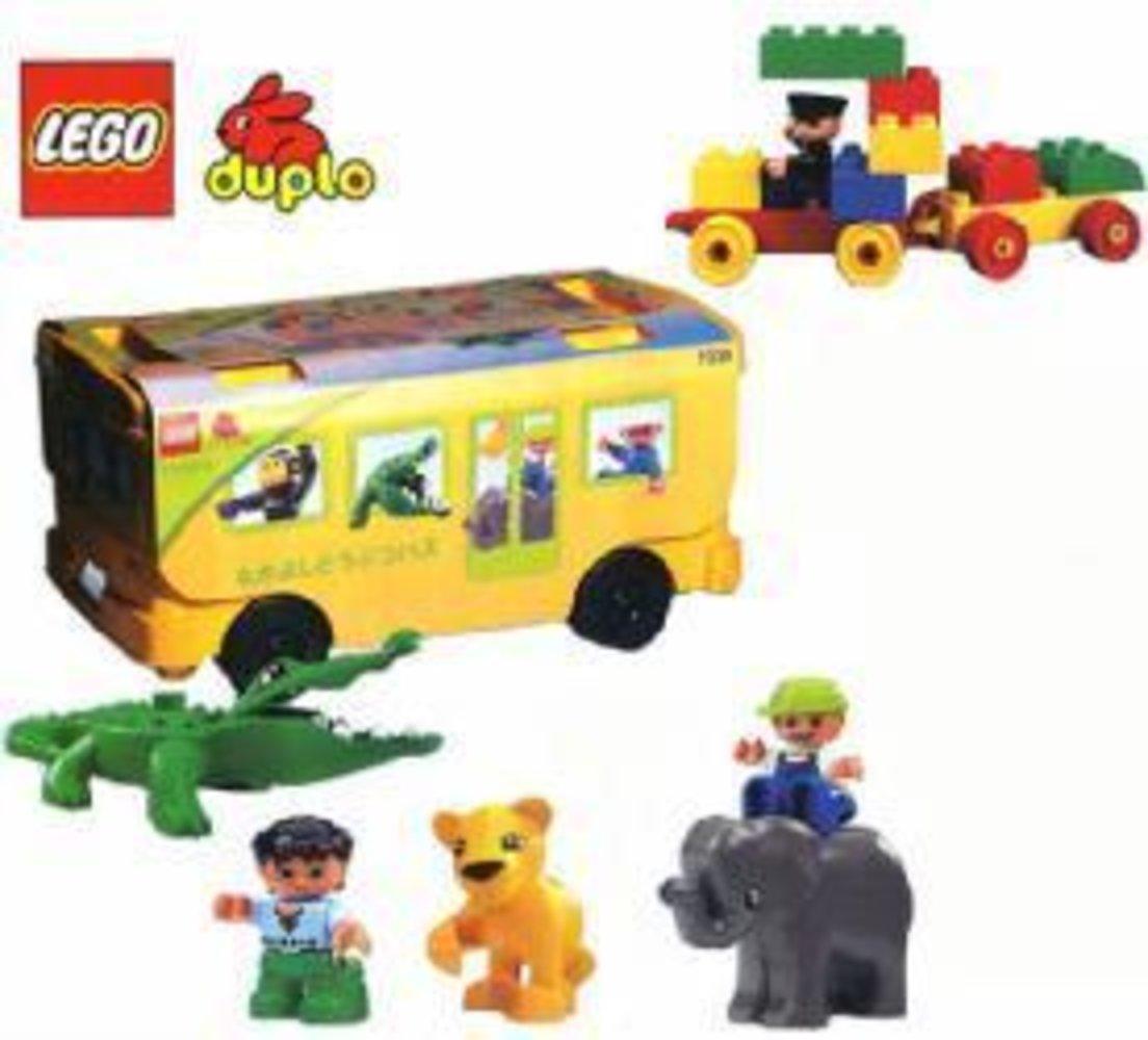 Friendly Animal Bus