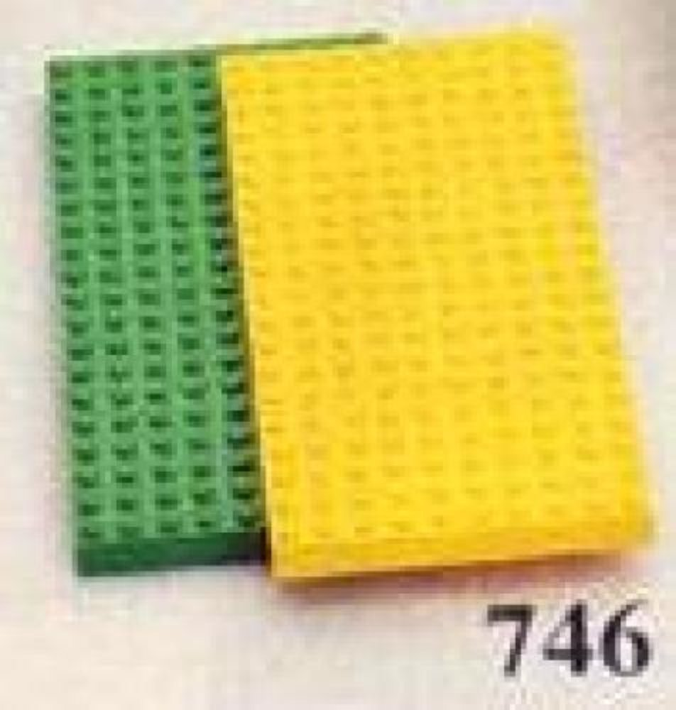 Baseplates, Green and Yellow