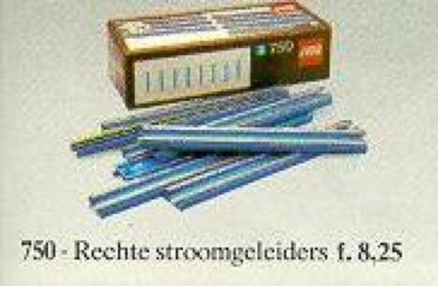 8 Straight 12V Conducting Rails