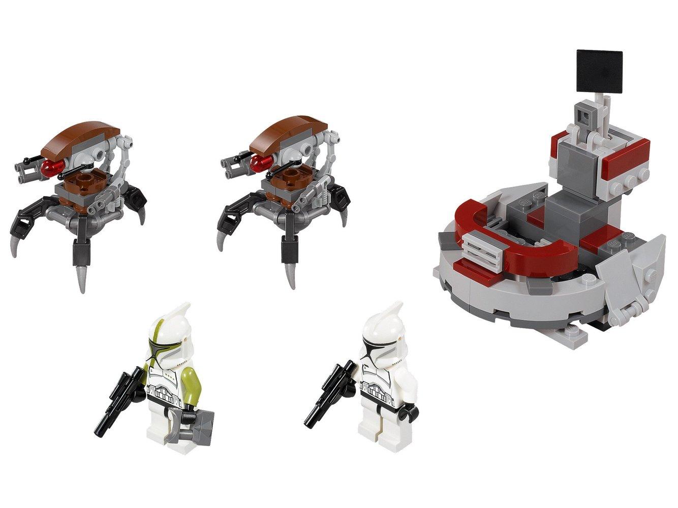 Clone Troopers vs. Droidekas
