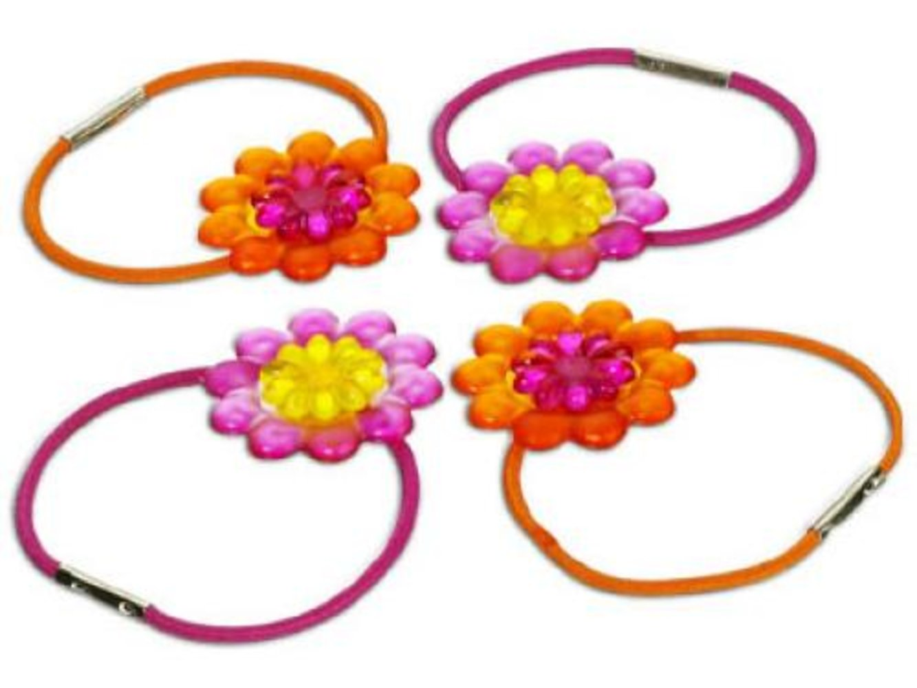 Flowered Hair Bands