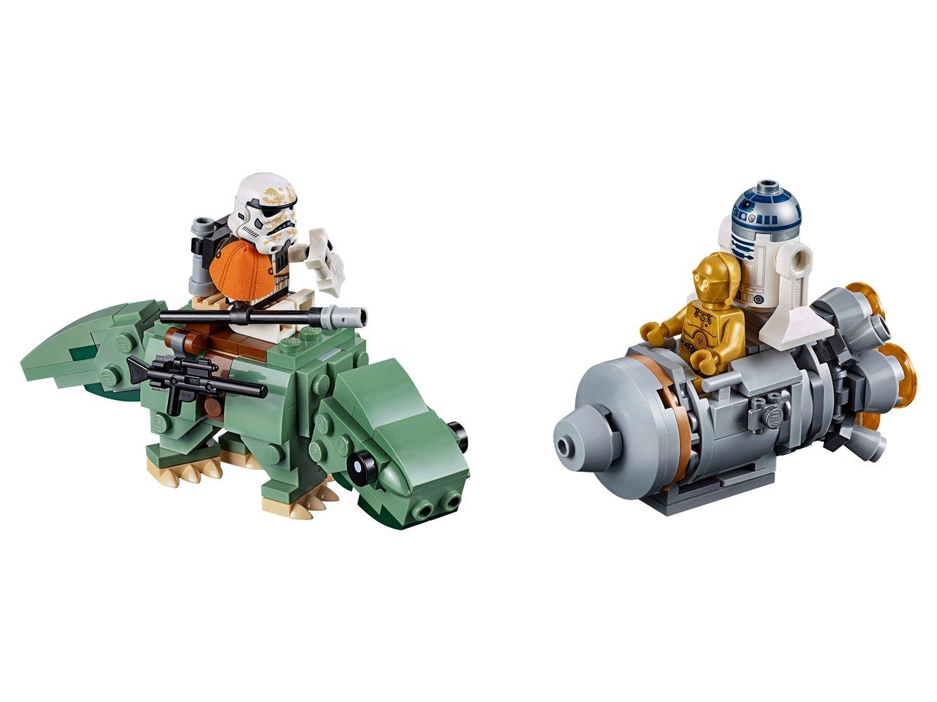 Escape Pod vs. Dewback Microfighters