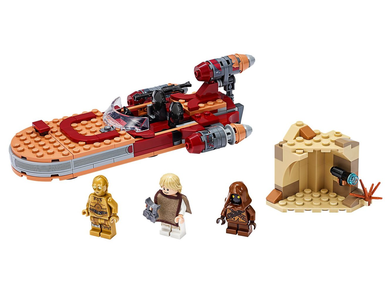 Luke Skywalker's Landspeeder