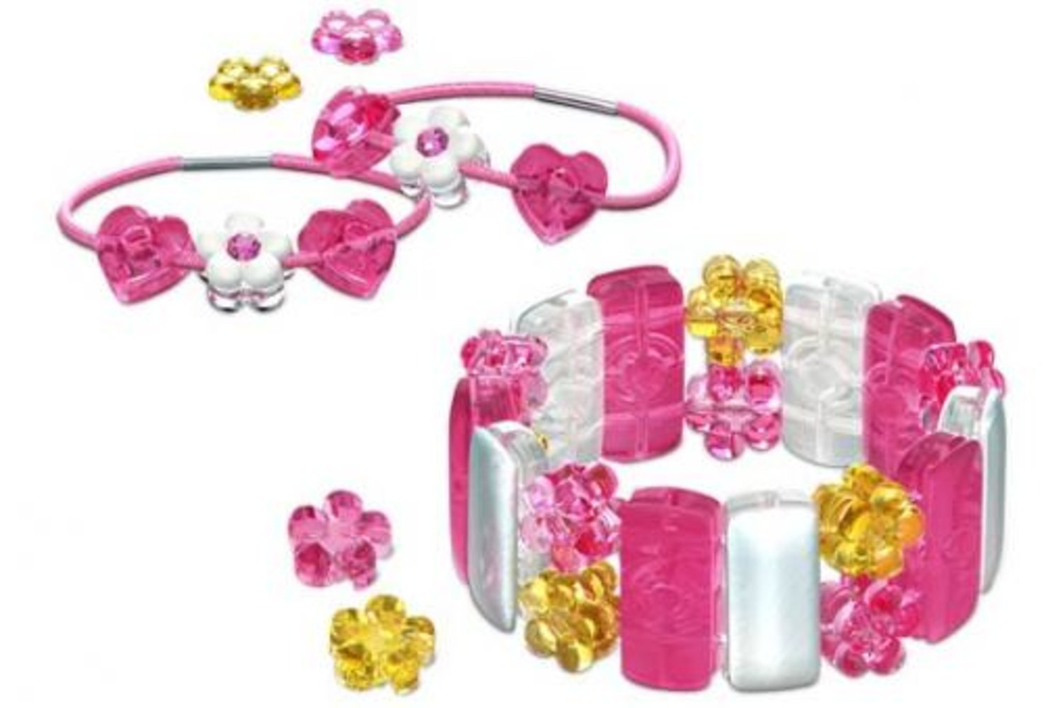 Pearly Pink Bracelet & Bands