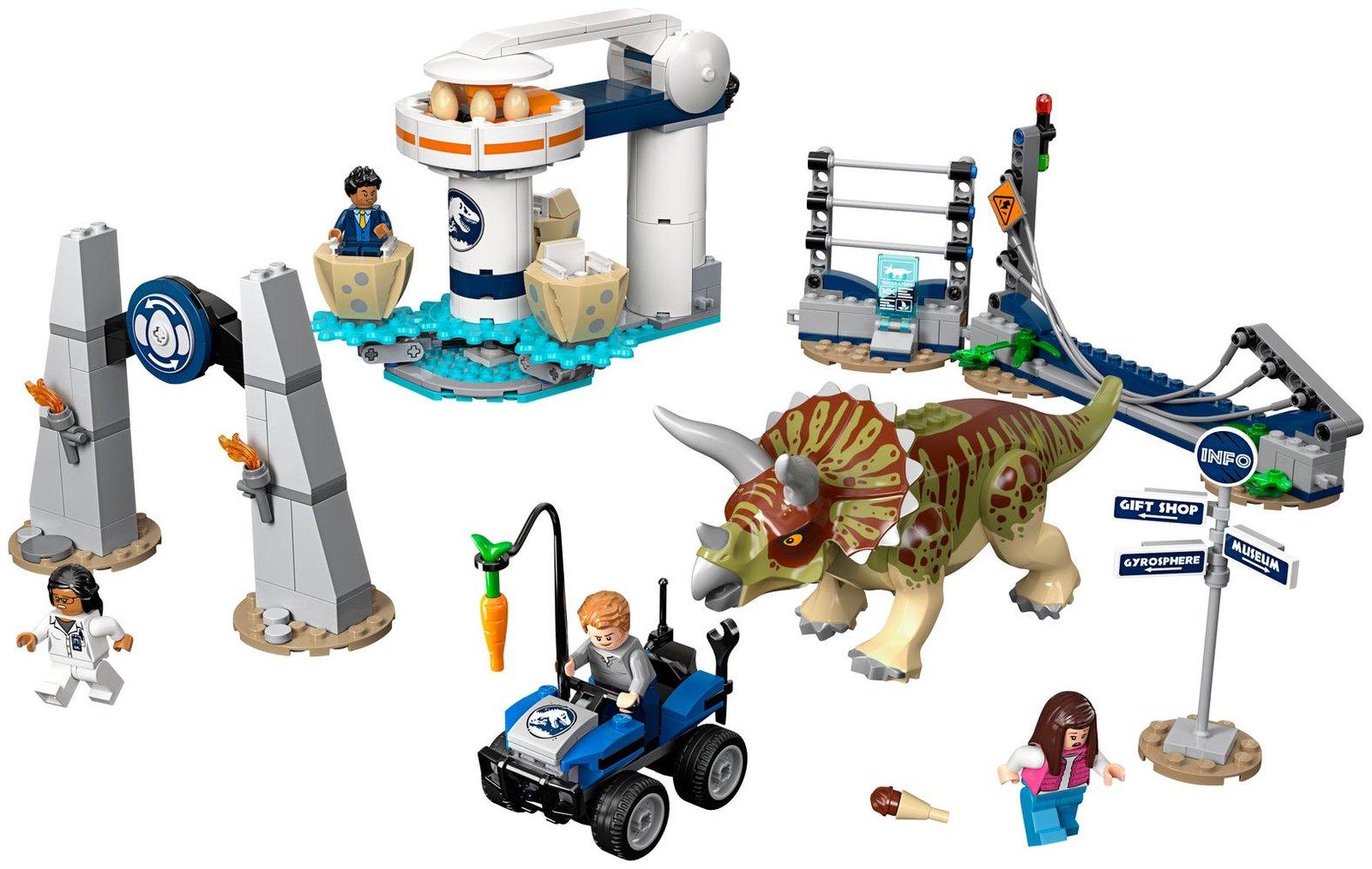 Triceratops Rampage